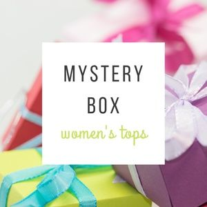 Women's tops mystery box —NO FLAWS—